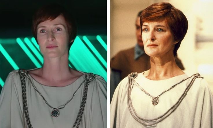 We've got images from the Rogue One trailer, plus a side-by-side look at the new and original versions of Rebel leader Mon Mothma.