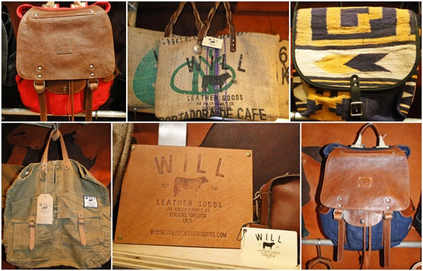 Featured Will Leather Goods product in the concept shop at Ron Herman Melrose