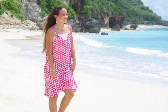 バリ島発!南の島の大人のリゾートファッションブランド Blue Watersの'15S/S新作入荷です!サンドダラーをたくさんプリントしたとっても可...|ハンドメイド、手作り、手仕事品の通販・販売・購入ならCreema。