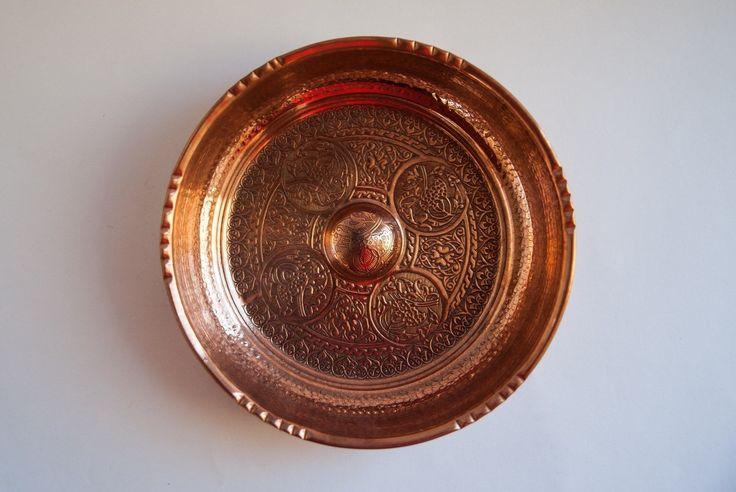 TURKISH HAMMAM BOWL - COPPER COLOR