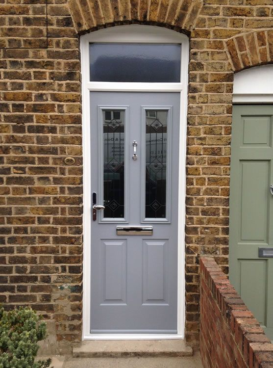 composite door chartwell green edwardian terrace - Google Search