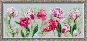 Вышивка крестом тюльпаны. Схемы вышивки крестом тюльпаны скачать бесплатно | Я Хозяйка