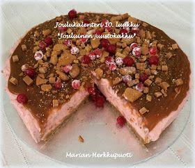 Marian Herkkupuoti: Joulukalenteri 10. luukku - Jouluinen juustokakku