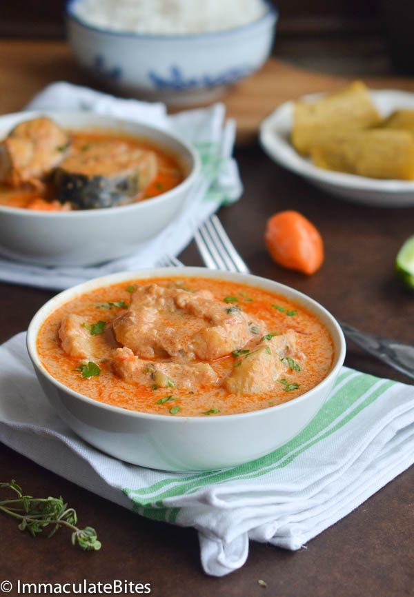 REBLOGGED - Jamaican fish stew is so tasty, comforting and creamy. It's made in 30 min from start to finish and is unbelievably good! Paleo and GF