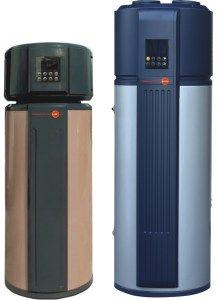 Azzuro Sunset series 190L and 300L heat pump water heater photo