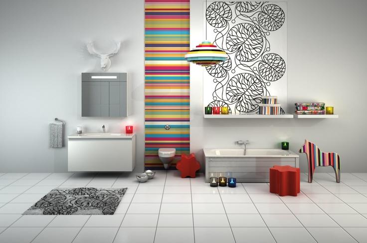 Toiletter i en verden af farver