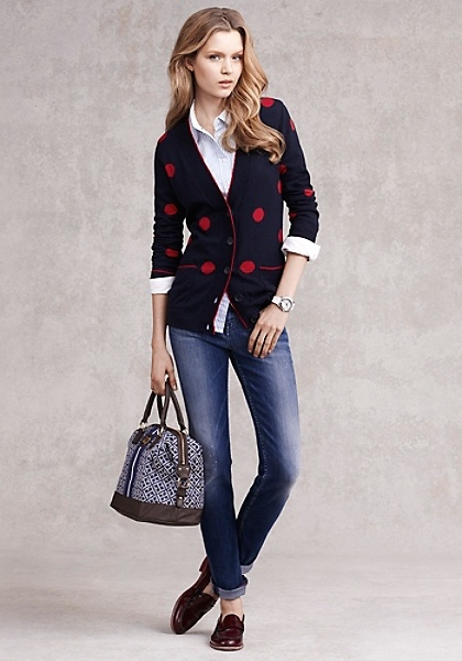 Tommy Hilfiger | Polka-dots are trending, and so is saving money on designer apparel. Get an extra 40% off sale items w/ code. [Exp 8/5]