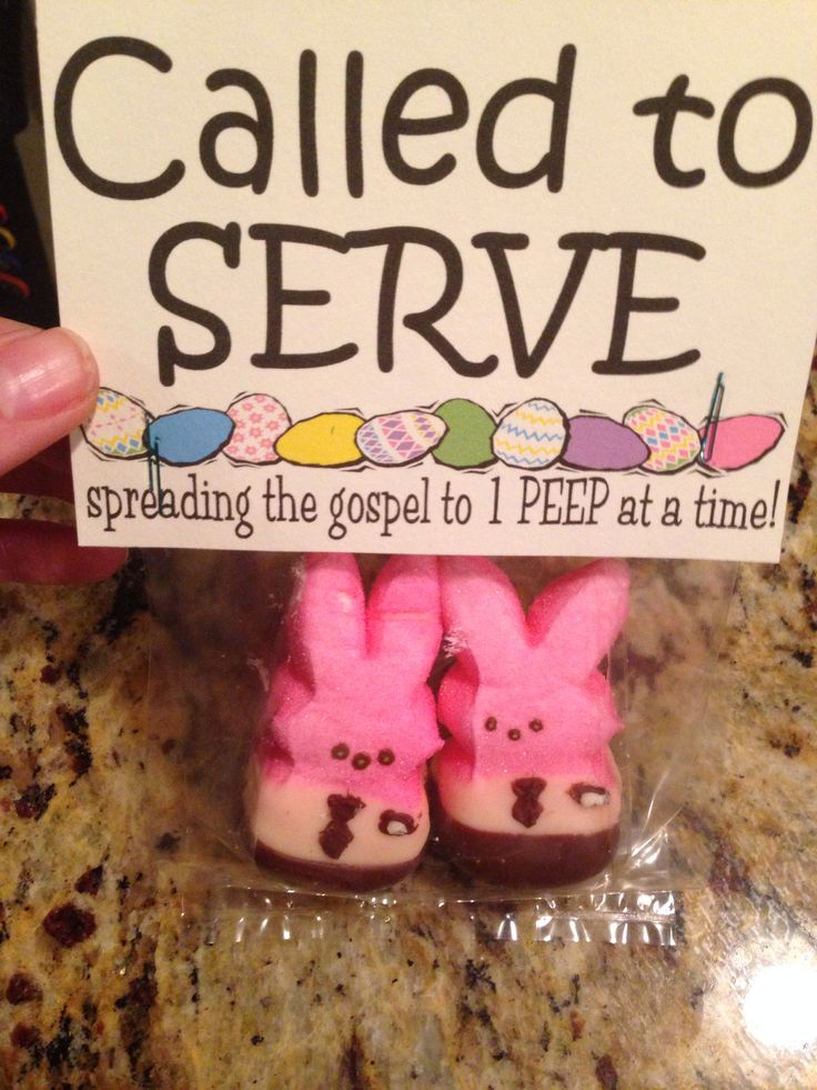 Called to SERVE: spreading the gospel to 1 PEEP at a time! Sending some Easter packages. #missionary #packages