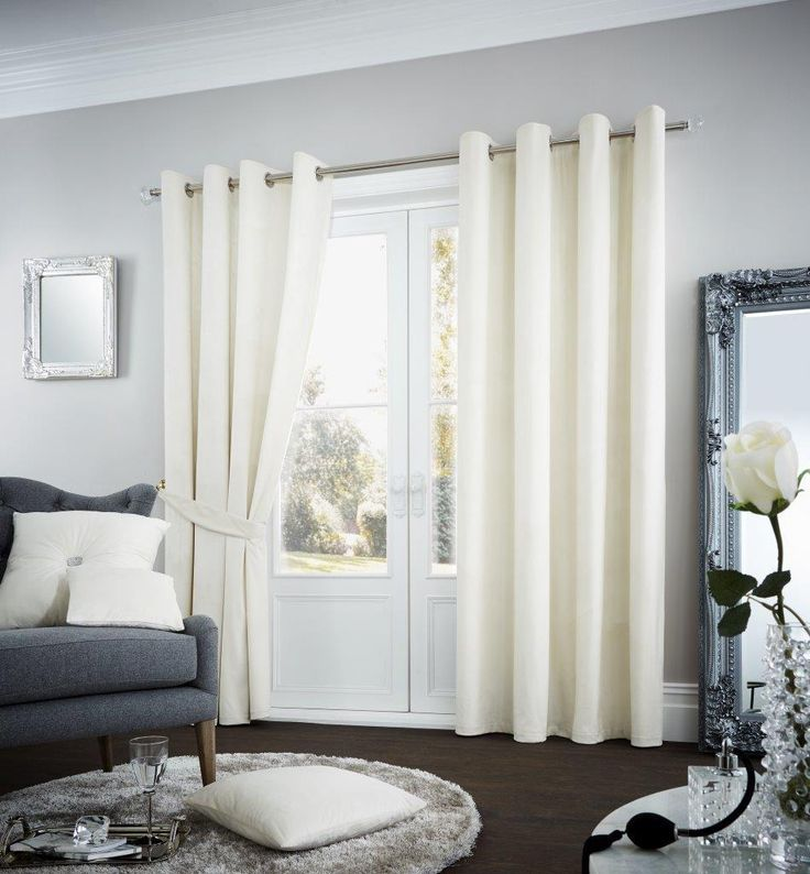 Riviara Lined Eyelet Curtains | Cream – Linens Range