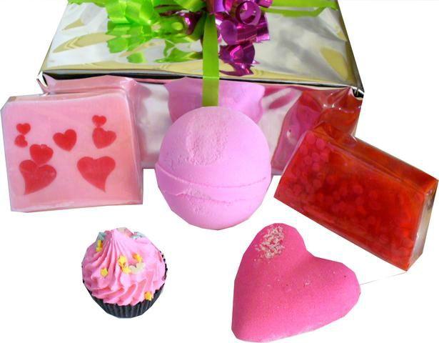Coffret de Bain Tendre Valentine