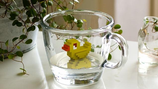 duck (created by 'NEMOART' App.  )