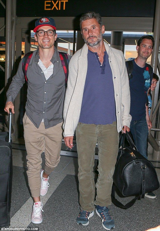 Matt Bomer and husband beam at LAX after Supreme Courtu0027s decision - proudest accomplishment