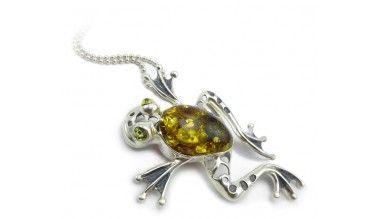 Wisiorek żaba