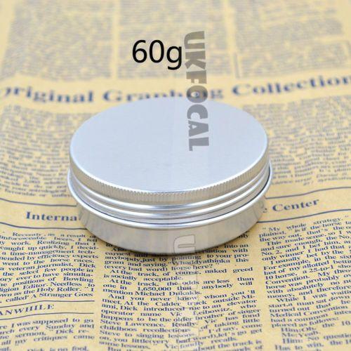 60g Cosmetic Jar Alumium Screw Lid