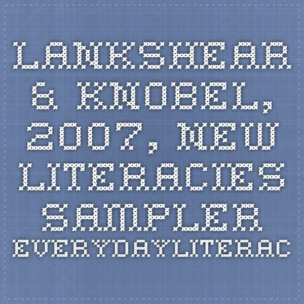 10 melhores imagens de books no pinterest livros leitura e escritores lankshear knobel 2007 new literacies sampler everydayliteracies fandeluxe Images