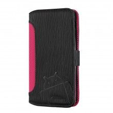 Custodia Nexus 5 Cruzerlite - Bugdroid Circuit Intelligent Wallet Black - Pink  € 19,99
