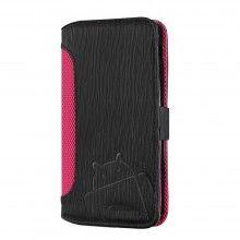 Funda Nexus 5 Cruzerlite - Bugdroid Circuit Intelligent Wallet Black - Pink  € 19,99