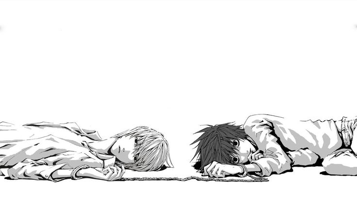 Death Note - Raito 'Light' Yagami & L 'Ryuuzaki' Lawliet