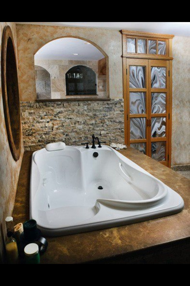 I would build an entire house around this tub.                                                                                                                                                     More