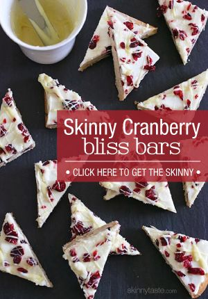 These bars are perfect for every holiday party, or even wrapped up for a beautiful homemade gift for friends, neighbors, and co-workers! | Skinnytaste.com