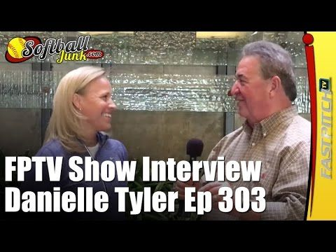 """Fastpitch.TV Softball Show episode 303 featuring my 10 Question interview with Olympian Danielle """"Dani"""" Tyler - Produced By Gary Leland of the Fastpitch.TV Network, Sponsored by http://SoftballJunk.com.  See more Fastpitch TV Show episodes with Gary Leland here: https://www.youtube.com/playlist?list=PLgXFT8-8dStq00XANDDF9bZVJzZk3nFPe  Danielle M. """"Dani"""" Tyler (born October 23, 1974) competed at the 1996 Summer Olympics in Atlanta where she received a gold medal with the American team. Daniel"""