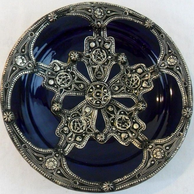 Mediterranean Majestique Ceramic-and- Decorative Plate in
