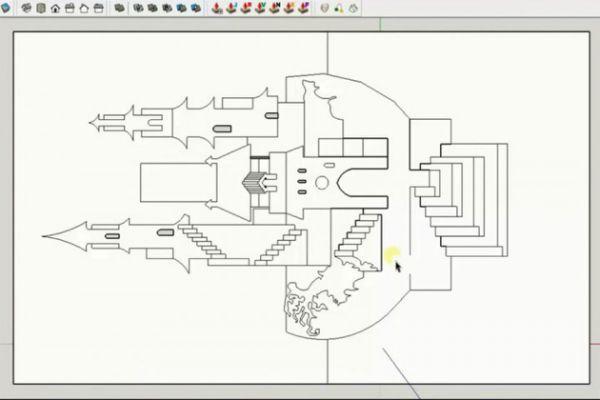 Draw 90 OA ( Origamic Architecture