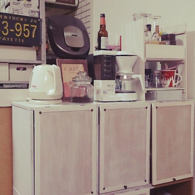 食器棚なんていらない!激安カラーボックス収納☆7選