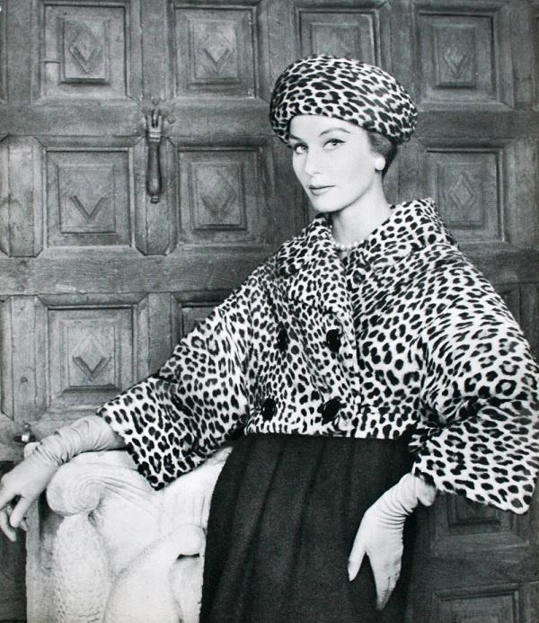 L'Officiel December 1958, Christian Dior