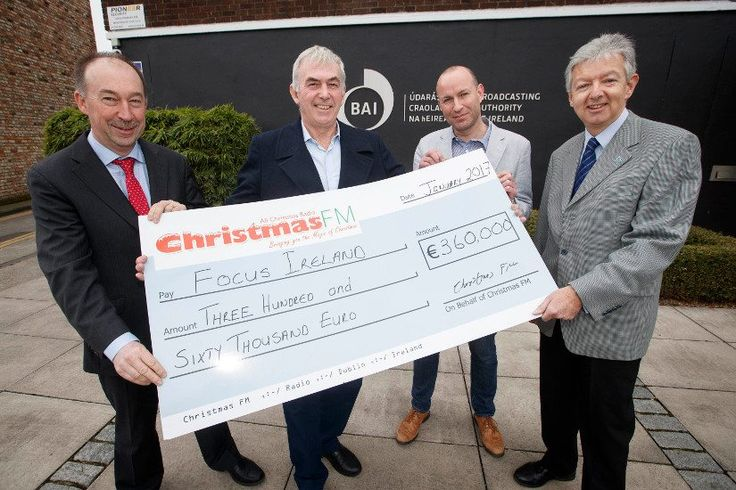 Christmas FM campaign has broken all previous records by raising over €360,000 for charity partner Focus Ireland