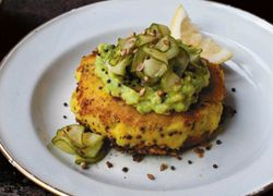 Dosa-Spiced Potato Cakes