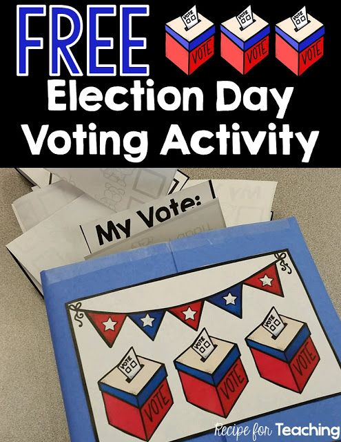 Classroom Voting Ideas ~ Best election day images on pinterest classroom ideas