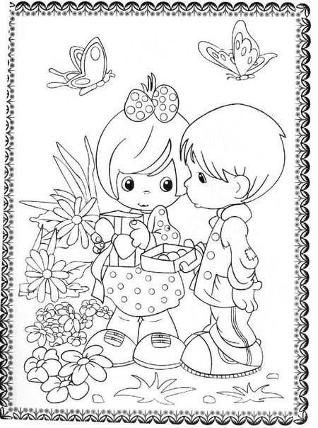 летние детские раскраски 3