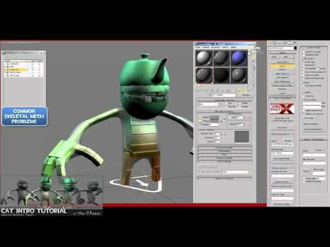 CAT Tutorial: (Ch1 : Rig-PartA) -Character Rigs for UDK(Unreal) using CAT in 3dsMax2011 - YouTube