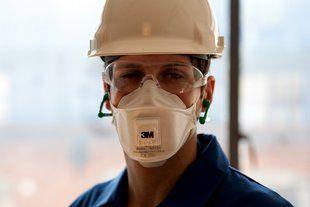 Atemschutz | Beispiel 3M Partikelschutzmaske