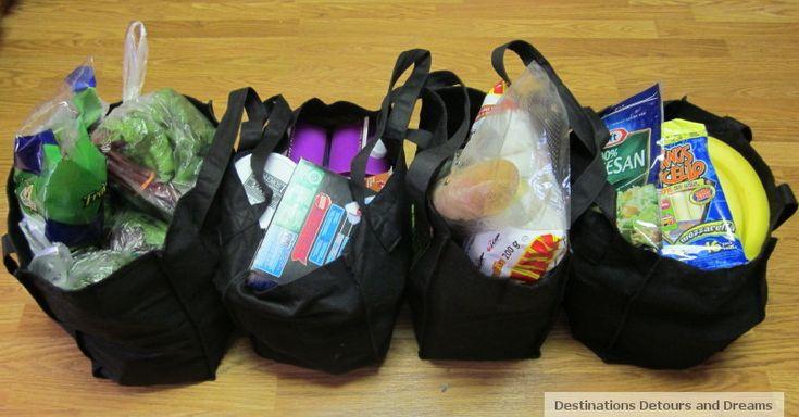 A snowbird's food bank volunteer experience