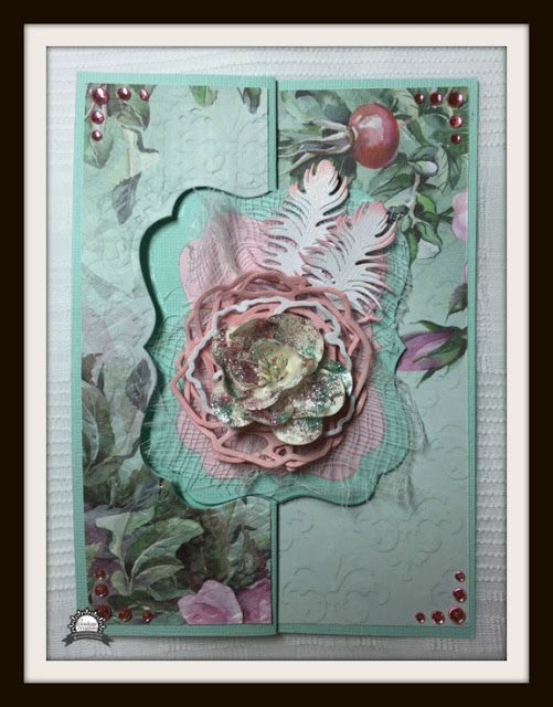 Artdeco Creations Brands: Mother's Day Card by Anita Enright