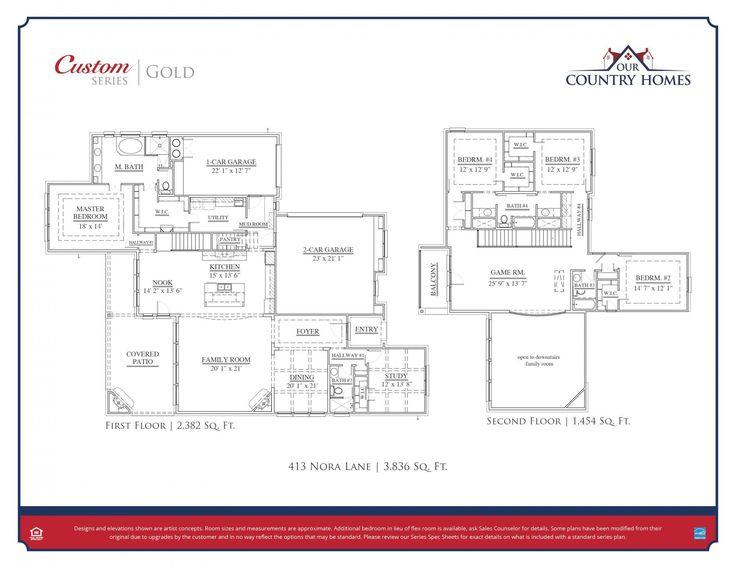 413 Nora Lane | New Homes in Argyle TX