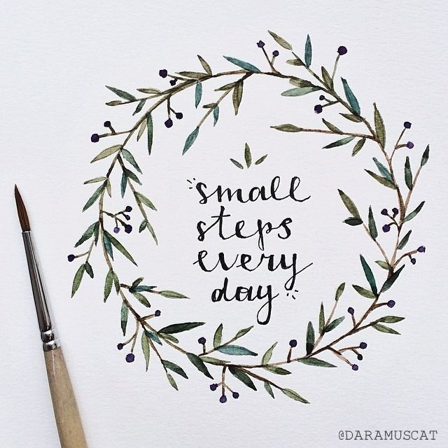 Small {creative} steps every day.