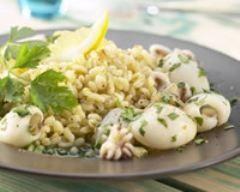 Petits poulpes citronnés à la crétoise | Cuisine AZ