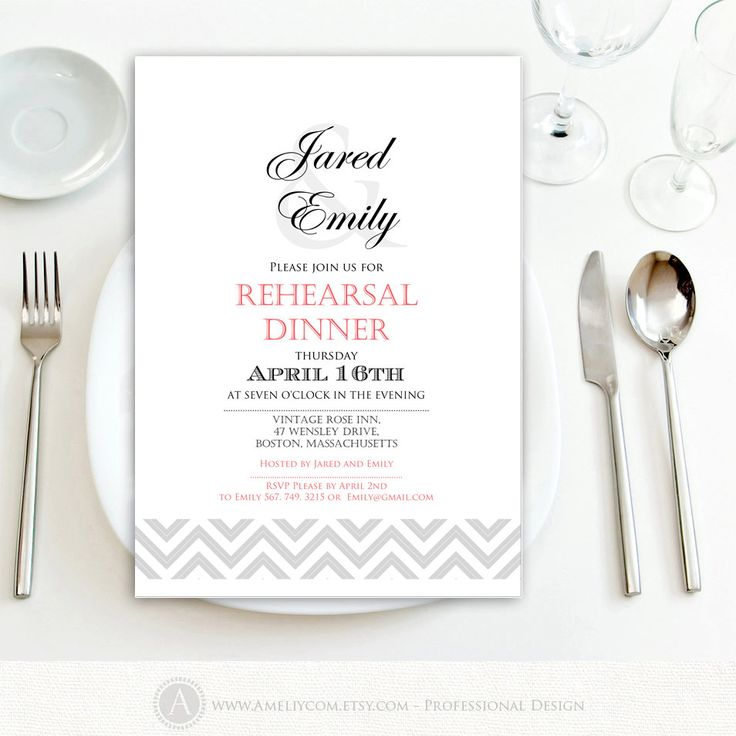 The 25+ best Engagement invitation template ideas on Pinterest - dinner invitation template