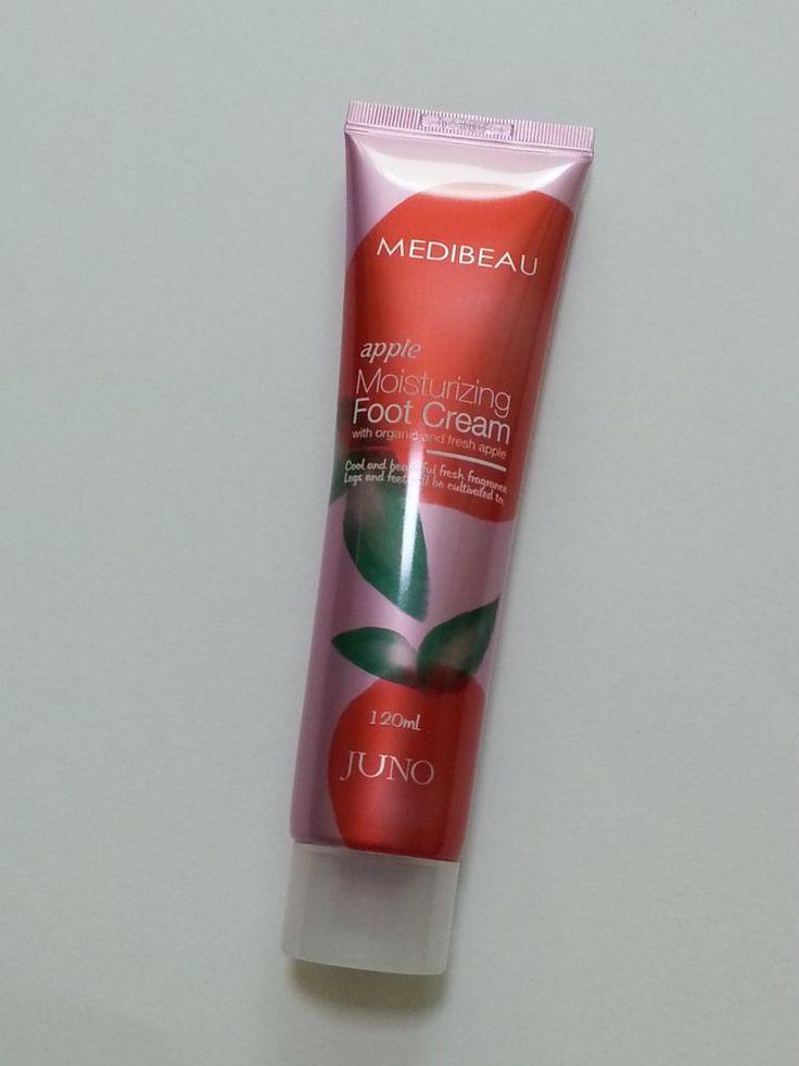 MEDIBEAU apple Moisturizing Foot Cream 120ml organic fresh Exfoliation Moisture #MEDIBEAU