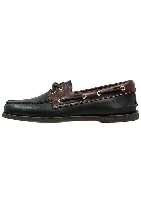 Chaussures bateau Sperry Chaussures bateau - black/amaretto noir: 100,00 € chez Zalando (au 19/12/16). Livraison et retours gratuits et service client gratuit au 0800 915 207.