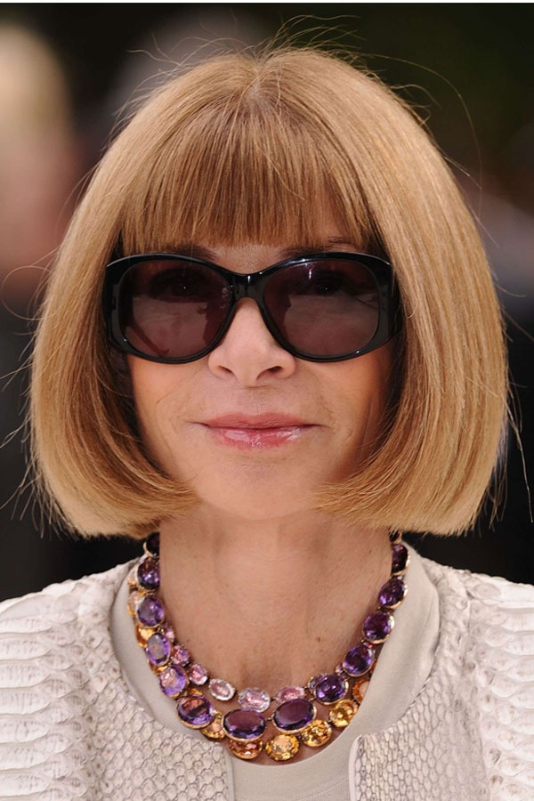 Anna Wintour is Queen of the bob forever and always!