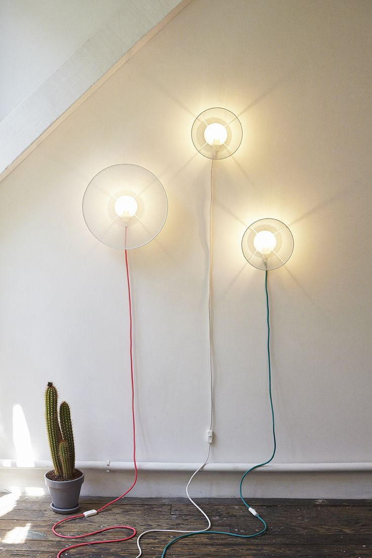 The GRILLO wall lamp by Elise Fouin for PETITE FRITURE. Credits: Ola Rindal