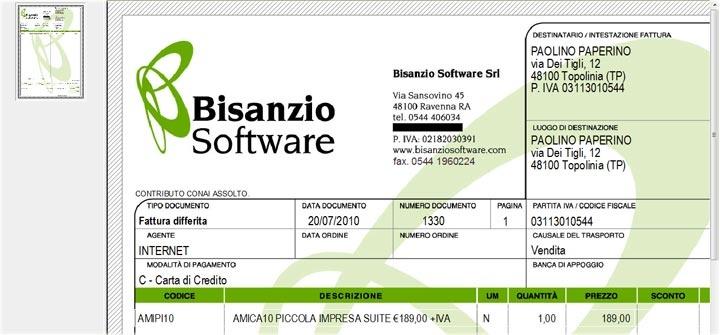 Amica Professional è il Software Gestionale Facile e Completo per la piccola e micro impresa. Fatture clienti e fornitori, ordini e preventivi, contabilità generale.