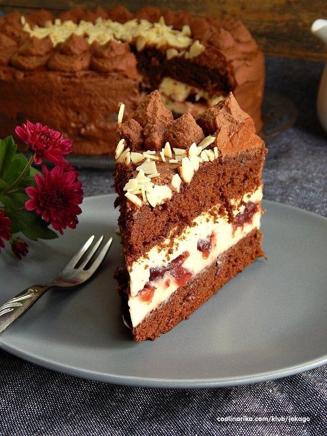 Торт с вишнями по monchislava - Вегета