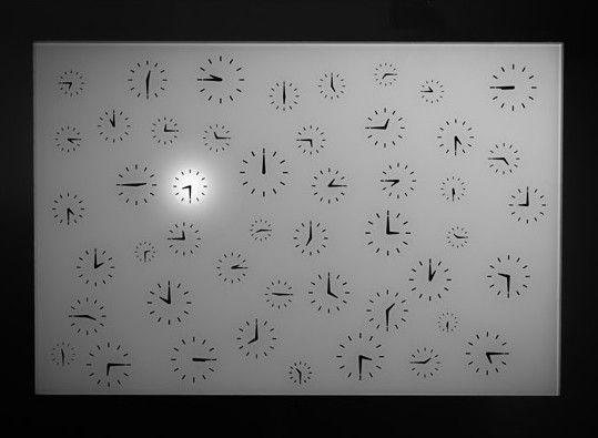 Horloge Temps mort par Cédric Dequidt - Journal du Design