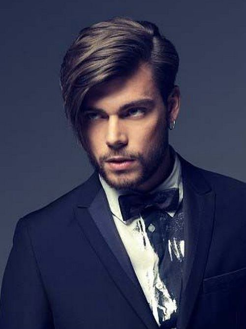 Mens Side Part Hairstyles 2014