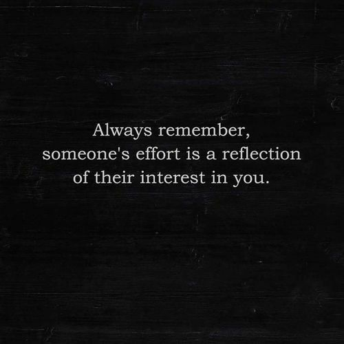 I must always remember this because you showed me exactly just how little you cared about me !